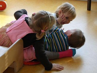 Spelen met Lotte en Giulietta